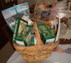 photo of a gift basket
